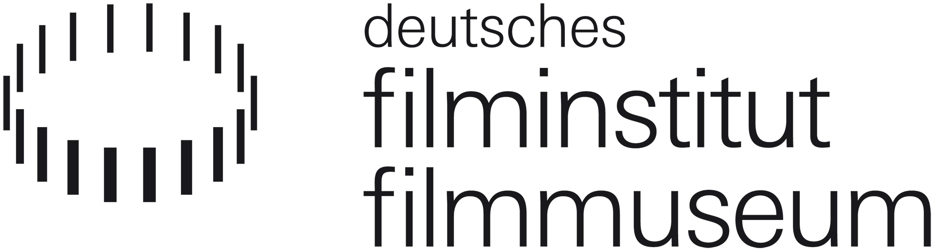 Logo Deutsches Filminstitut - DIF e.V. / Deutsches Filmmuseu